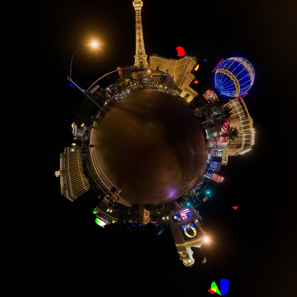 Las Vegas Stereographic Projection