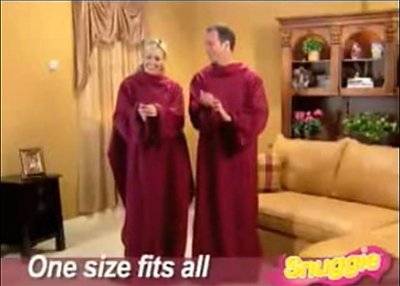 Snuggie - One Size Fits All